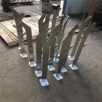 供应不锈钢栏杆立柱 钢索楼梯栏杆 按图加工 金裕