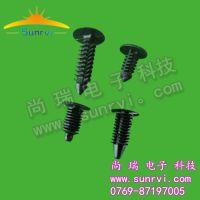6MM固定型铆钉,推式塑胶树形钉,广东树形铆钉厂家