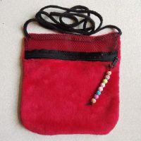 甘肃环保绒布仓鼠棉窝直销 耐磨网布便携式仓鼠 龙猫外带包供应