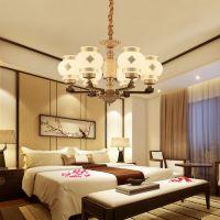欧式吊灯客厅灯简约现代大气家用主卧室餐厅吊灯奢华大厅吊灯具