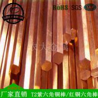 高品质 红铜方棒 T2方扁紫铜棒 红铜方条生产厂家