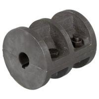 DIN 115标准铸铁材质夹紧式联轴器,箱式联轴器,进口胀套