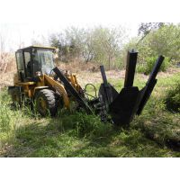 装载机挖树机 带土球自动挖树移植机 HCN屈恩机具移树机