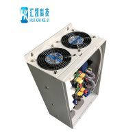造粒机上安装一种新型高效节能电磁加热器设备 汇凯60kw电磁感应加热器图片