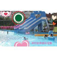 2018夏季新款热销游乐园大象水滑梯充气移动水上乐园儿童滑梯组合