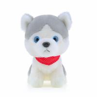 厂家直销填充PP棉20CM毛绒玩具小狗 可来图打样定制毛绒公仔