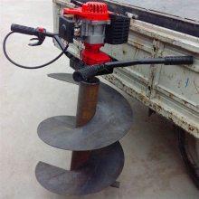 黑龙江新款挖坑机 汽油动力优质挖坑机 小型双人植树机