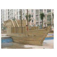 优质防腐木木船