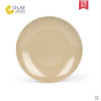 盘/餐盘/韩式盘子/中式单盘/酒店餐盘/比密胺更环保/稻壳纤维一体成型/定制盘