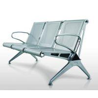 三人位三角款机场排椅,好椅达厂家直销简约款机场金属排椅简约公共座椅