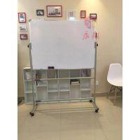 广州支架式玻璃白板Q南沙办公会议黑板W磁性写字板家用