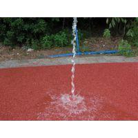 海绵城市厂家供应彩色生态地坪 透水混凝土