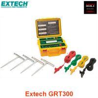 美国Extech GRT300便携式数字四线接地电阻测试仪