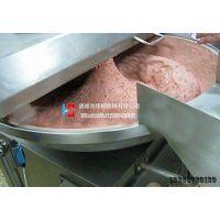 华钢供应 80豆腐丸子变频斩拌机 高速斩拌机厂家