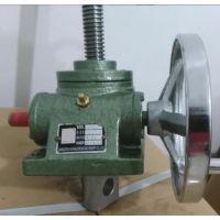 手动升降机 蜗轮蜗杆传动带自锁功能的升降装置