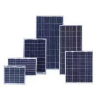 厂家直销单晶50W太阳能板