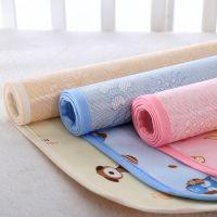 婴儿夏天隔尿垫 夏季 冰丝水晶绒双面防水透气可洗儿童姨妈小床垫