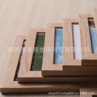 地中海风格木色壁挂式木制相框创意挂墙装饰品照片墙搭档连体相框