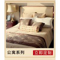 凯琦家私新款简约欧式星级酒店套房客房客厅家具定制专家