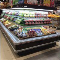 西昌生鲜环岛柜定制,乳酸菌饮料牛奶保鲜柜,徽点风幕柜厂家价格
