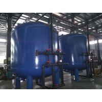 8M滤速 直径3米2碳钢内硫化衬胶 活性炭过滤器