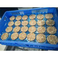肉饼成套加工设备——肉饼成型机 浸浆机 裹面包糠机 油炸机