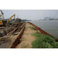 临沂钢板桩施工队伍,青岛拉森钢板桩施工单位,泰安钢栈桥施工公司