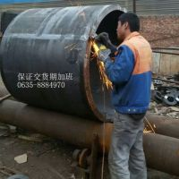 定做16MN厚壁焊管、加工焊接钢管、16MN热卷管、热卷管、每米价格
