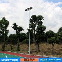 厂家批发篮球场灯杆 学校室外篮球场灯柱 6米8米灯柱灯杆有现货