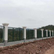 广州公园小区铁艺护栏 安全防护栏铁栅栏定做 珠海热镀锌围栏现货 隔离栏