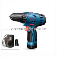东成 充电电钻 12V锂电池充电式手电钻 DCJZ10-10 双速机械调节