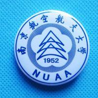 郑州专业制作金属徽章,厂家郑州大学纪念品徽章订做