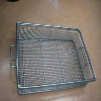 定制出口标准不锈钢网筐 收纳筐
