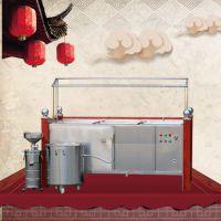 功能齐全配置高玫瑰金油皮机 不锈钢酒店专用豆油皮机