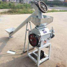 电动小型燕麦轧压扁机 熟花生米破碎机 厂家直销豆子挤扁机