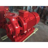 泸州消防泵经销商XBD17.0/30G-HY-110KW国标电动机清水泵 加压泵机械密封AB签产品