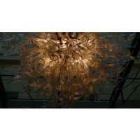 双林瑞兆专业定制现代简约高端琉璃艺术灯 用于酒店大厅 会议室 餐厅
