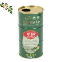 食用油铁罐 山茶油圆形铁桶 马口铁油罐 1L-1.5L-1.8L