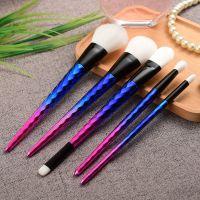 kainuoa/凯诺工厂批发新款5支独角兽化妆刷套装 美妆工具
