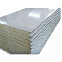 BI级聚氨酯彩钢复合板生产 玻璃棉夹芯板生产 pir冷库保温板