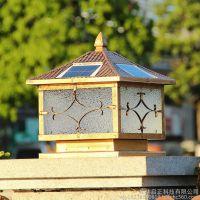 led太阳能庭院灯家用别墅围墙 花园景区灯