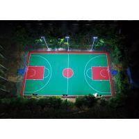汕头篮球场电线杆购买/户外运动场LED照明灯安装/8米电线杆造价