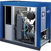 激光切割机16公斤的专业配套空压机富达螺杆空压机