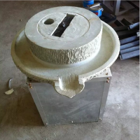 园林景区复古老石条铺路 水磨石磨机 多用途电动水磨机