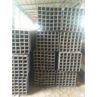 热镀锌方钢管 幕墙镀锌方矩管 冷镀锌方管50*100 可配送到厂