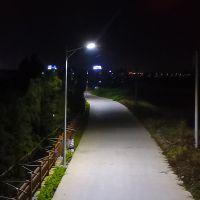 贵阳网拍路灯效果图 码头投射灯至少几根 LED道路灯柏克品牌