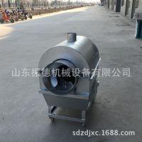 滚筒式花生炒货机 自动控温炒货机 大型滚筒炒货机 振德直销