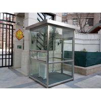 低价直现代销玻璃岗亭 成品玻璃亭 移动 便民服务新型环保