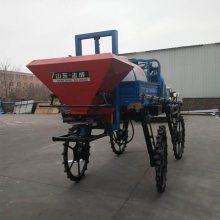 植保机械喷杆喷雾机厂家 自走式喷杆喷药机 水旱两用施肥25马力打药机