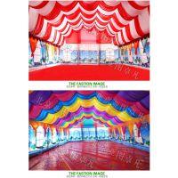 亚图卓凡户外大型充气帐篷流动宴席 移动餐厅 可供100人使用大型酒席棚防雨保暖迷彩牛津布6*12